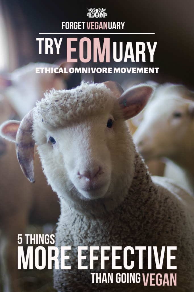 Forget Veganuary, Try EOMuary!